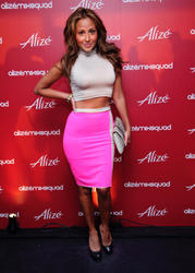 Эдриэнн Байлон, фото 27. Adrienne Bailon attends the Alize Mix Squad debut party at the Penthouse at Hotel Rivington on June 21, 2011 in New York City, photo 27