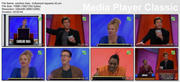 "CAROLINE RHEA - ""Hollywood Squares"" - *blue top* (#2)"