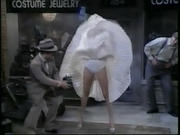 Women nude at shops flashing