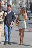 Mollie King | Leaving a Starbucks in LA | February 18 | 18 pics