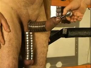Ball Cock Stretching