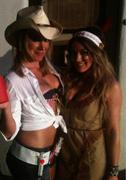 Hilary &amp;amp; Haylie Duff- Halloween Twitter Pic 10/31/10
